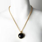 Gold / Black stone