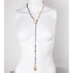 amethyste /dots gold