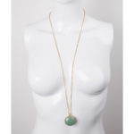 gold and green aventurine gemstone